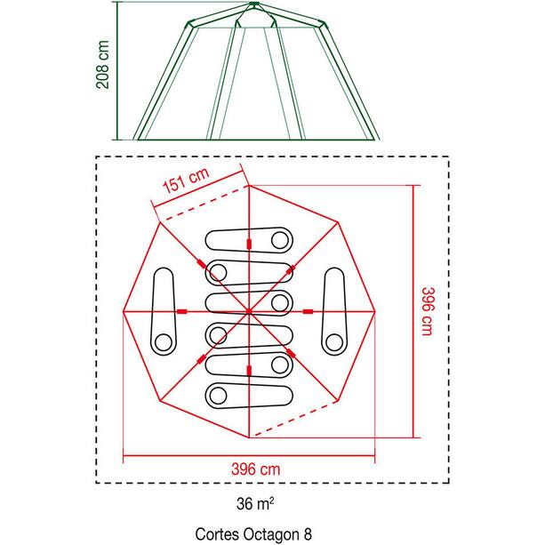 Coleman Cortes Octagon 8 Zelt