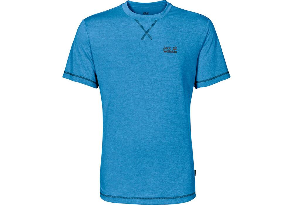Jack wolfskin crosstrail t shirt men ocean blue for Ocean blue t shirt
