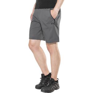 Jack Wolfskin Active Track Shorts Men, dark iron dark iron