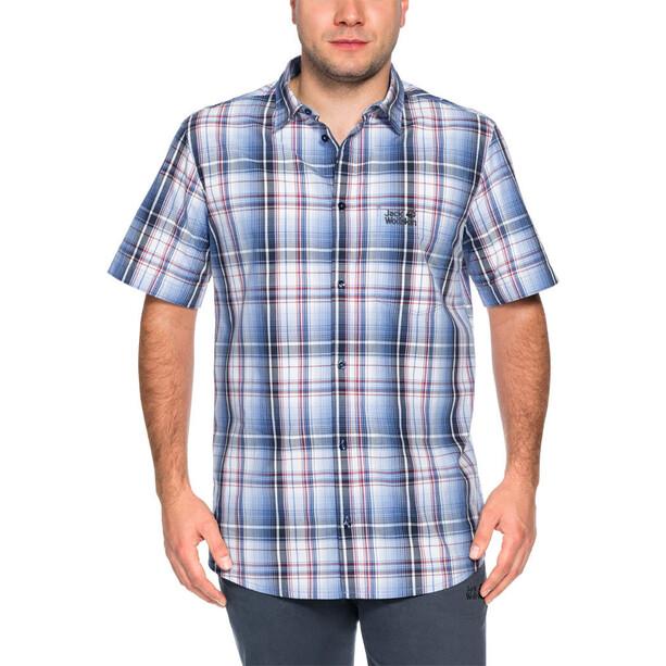 Jack Wolfskin Hot Chili Shirt Herren night blue checks