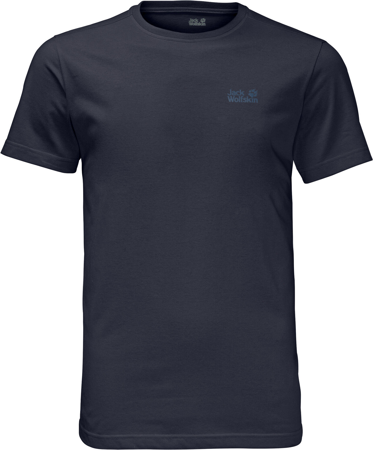 Jack Wolfskin Essential T Shirt Herren night blue