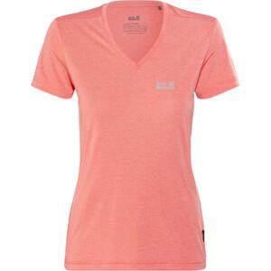Jack Wolfskin Crosstrail T-Shirt Femme, rose rose