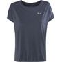 SALEWA Puez Hybrid Dry Kurzarm T-Shirt Damen night black/8675