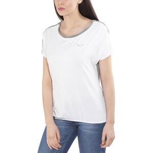 SALEWA Puez Hybrid Dry Kurzarm T-Shirt Damen white/0538 white/0538