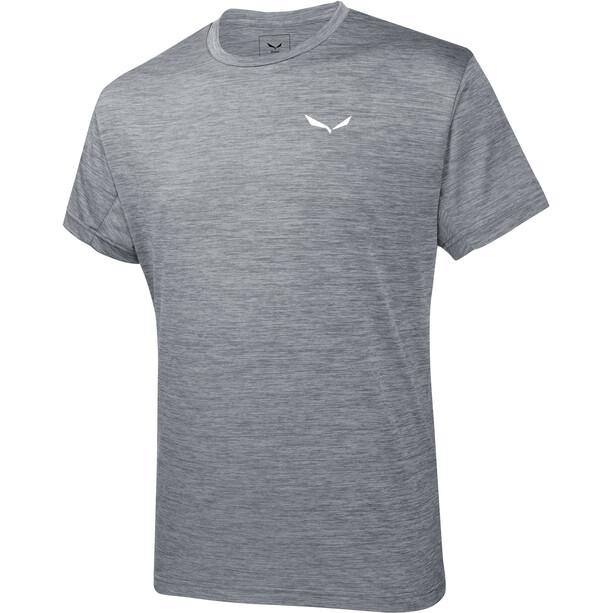 SALEWA Puez Melange Dry Kurzarm T-Shirt Herren grau