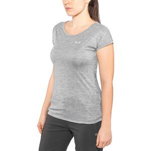 SALEWA Puez Melange Dry Kurzarm T-Shirt Damen quiet shade melange quiet shade melange