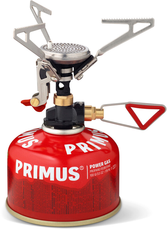Primus Micron Trail Reg. Piezo Gasskjøkken rød  2017 Stormkjøkken