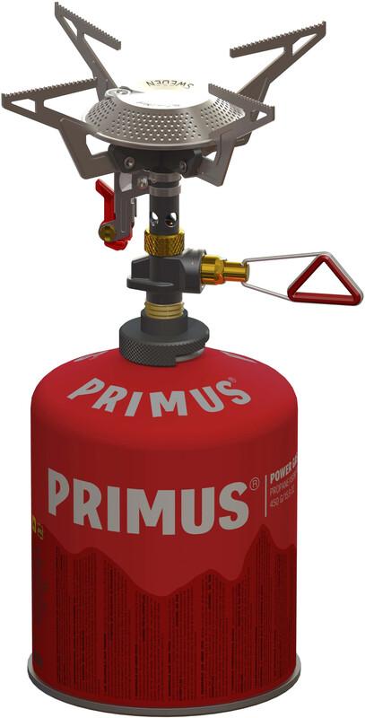 Primus Power Trail Piezo Reg.Duo Gasskjøkken rød  2017 Stormkjøkken