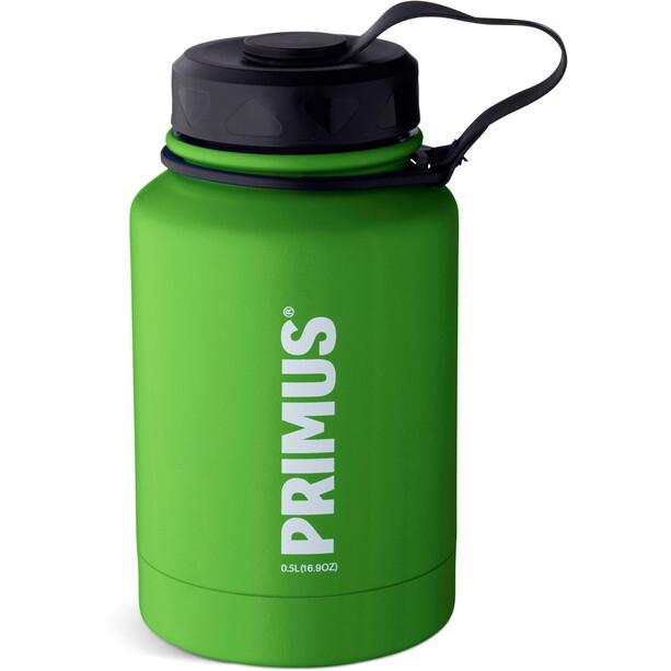 Primus TrailBottle Vacuum Water Bottle Stainless Steel 500ml, vihreä