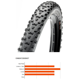 """Maxxis Forekaster Folding Tyre 27.5"""" Dual TR EXO"""