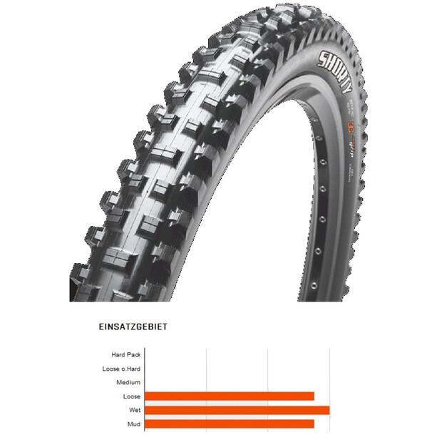 """Maxxis Shorty Folding Tyre 27.5"""" 3C MaxxTerra TR EXO black"""