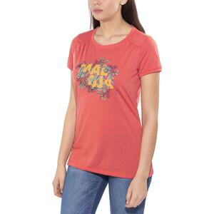 Maloja HalfingM. Multi Kurzarm Jersey Damen vintage red vintage red