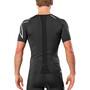 2XU Compression Maillot manches courtes zippé Homme, black/sil