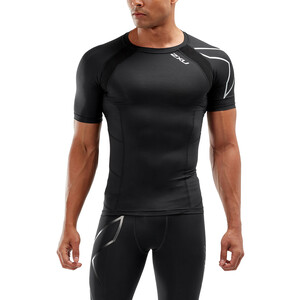 2XU Compression Top Herrer, sort sort