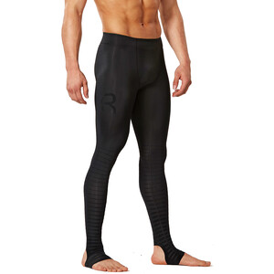 2XU Power Recharge Recovery Tights Herr svart svart