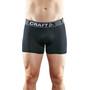 """Craft Greatness 3"""" Boxershorts Herren black/white"""