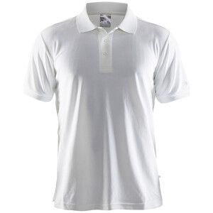 Craft Classic Polo Pique Shirt Herren white white