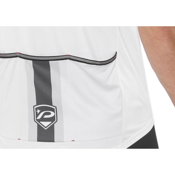 Protective Turin Kurzarm Full-Zip Trikot Herren white