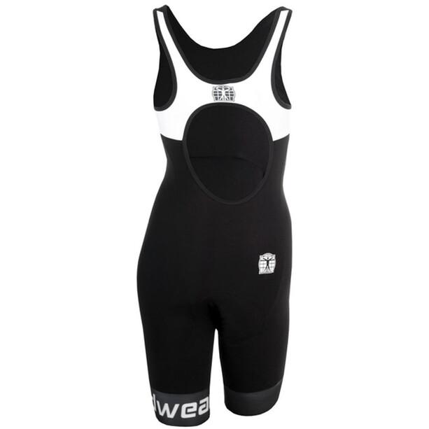 Bioracer Tri Elite Bathing Suit Women black-white