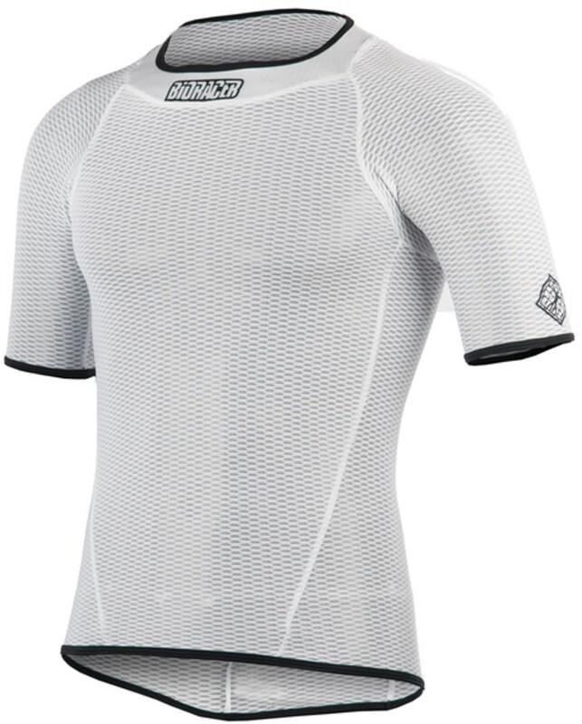 Bioracer Underwear Shirt SS Unisex white XS 2018 Accessoires