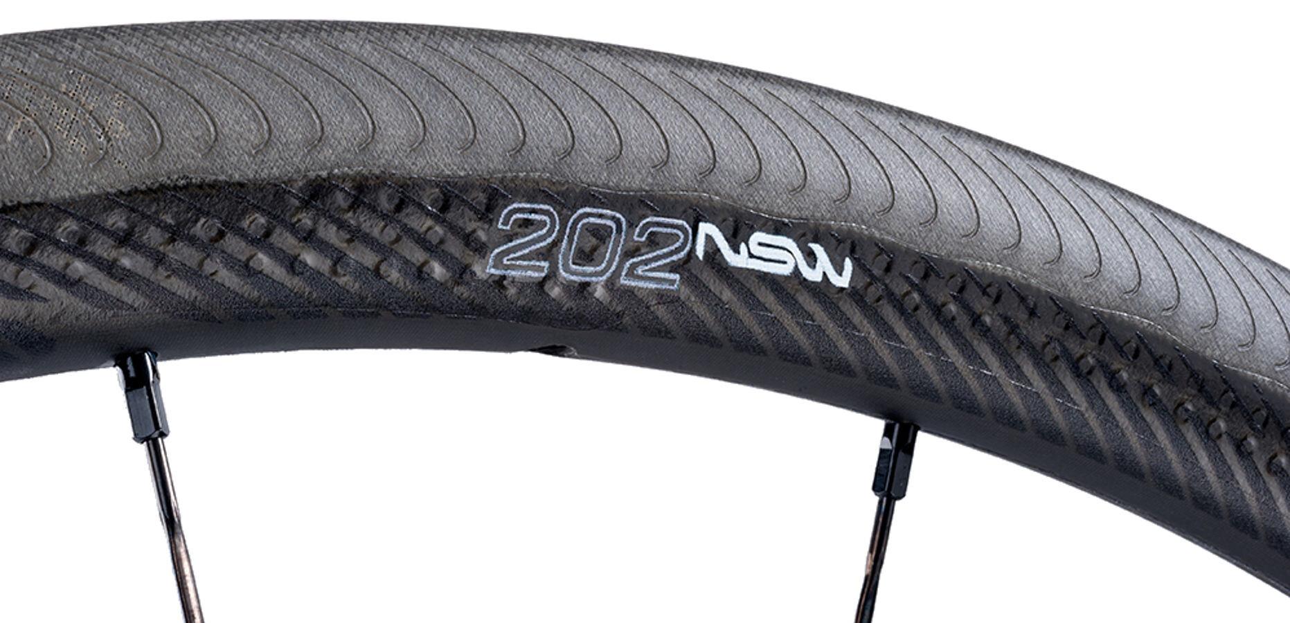 Zipp 202 NSW Hinterrad Clincher SRAMShimano