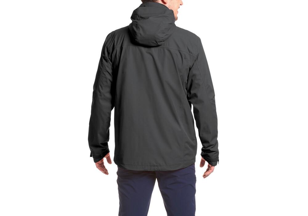 maier sports metor jacket short men black. Black Bedroom Furniture Sets. Home Design Ideas