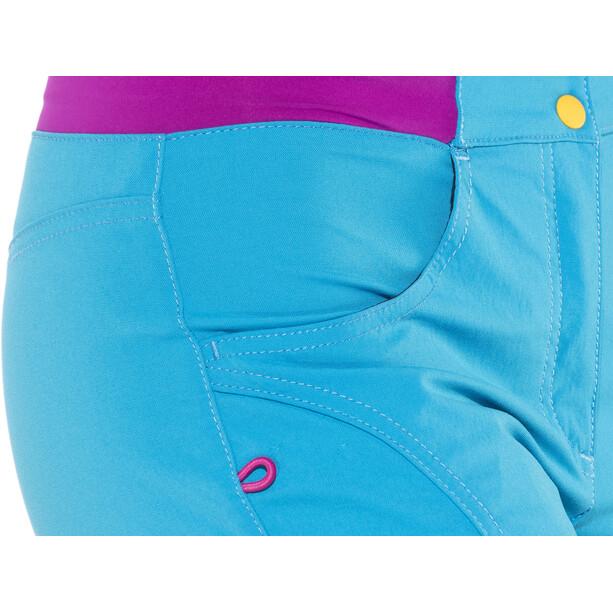 E9 Cri Shorts Damen cyan