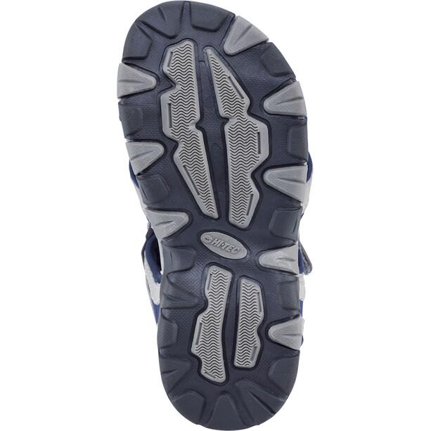Hi-Tec GT Strap Sandalen Kinder cool grey/majolica blue/limoncello
