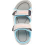 Hi-Tec GT Strap Sandalen Kinder cool grey/curacou blue/ papaya punch