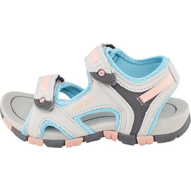 Hi-Tec GT Strap Sandaalit Lapset, harmaa/turkoosi