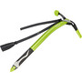 Climbing Technology Hound Plus Eispickel with Dragon-Tour Leash green/black