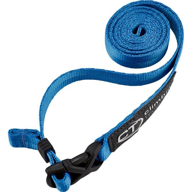 Climbing Technology Clippy Evo Webgürtel blau