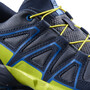 Salomon Speedcross Schuhe Kinder ombre blue/sulphur spring/nautical blue