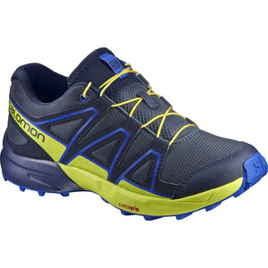 Salomon Speedcross Schuhe Kinder ombre blue/sulphur spring/nautical blue ombre blue/sulphur spring/nautical blue