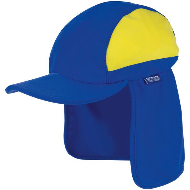 Regatta Protector II Cap Kinder oxford blue /spring yellow