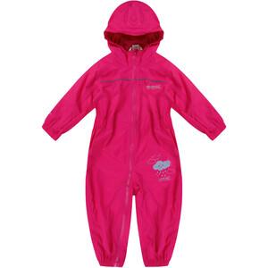 Regatta Puddle IV Overall Kinder pink pink