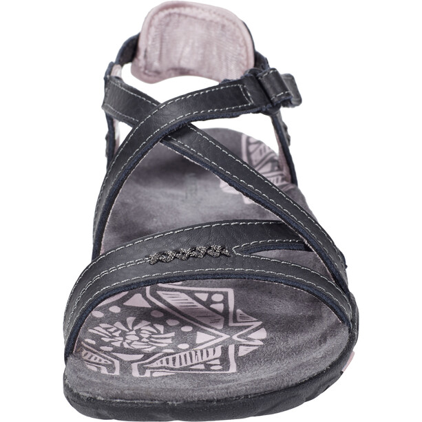 Merrell Sandspur Rose LTR Chaussures Femme, black/lilac keepsake