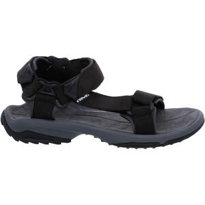 Teva Terra FI Lite Leather Sandalen Herren schwarz schwarz