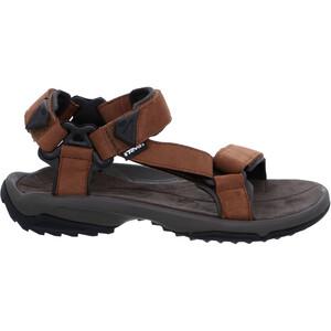 Teva Terra FI Lite Leather Sandalen Herren braun braun