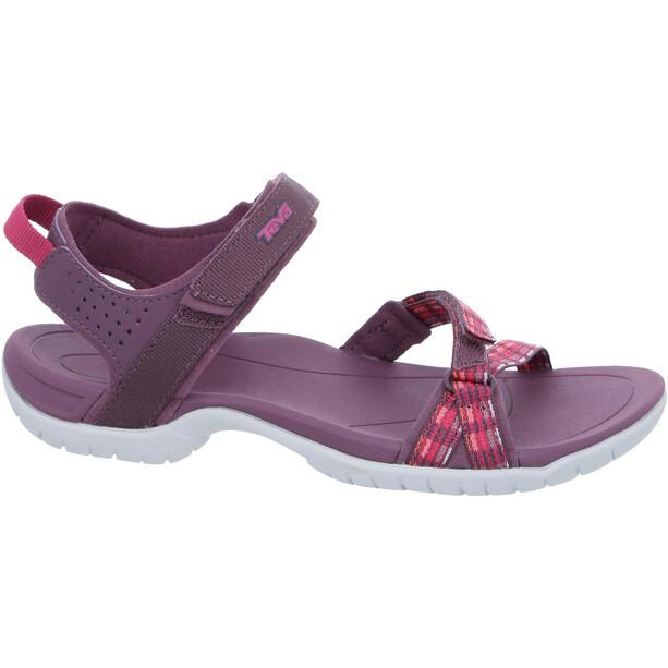 Teva Verra Sandalen Damen modern stripes purple