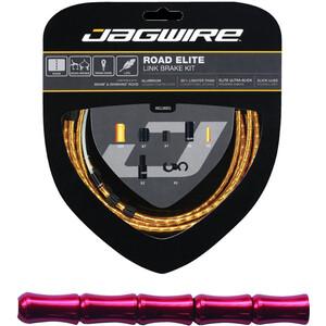Jagwire Road Elite Link Brake Cable Kit レッド