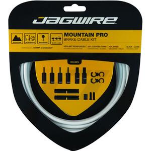 Jagwire Mountain Pro Brake Cable Kit ホワイト
