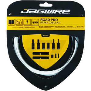 Jagwire Road Pro Brake Cable Kit ホワイト
