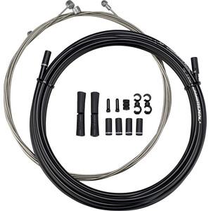 Jagwire Sport Bremsekabelsæt til Shimano/SRAM, sort sort