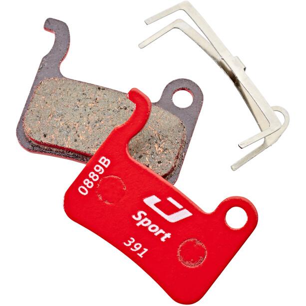 Jagwire Disc Sport Semi-Metallic Bremseklosser for XTR / Saint / Deore XT / SLX / LX / Hone / Alfine