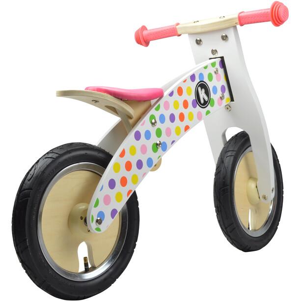 Kiddimoto Kurve Wheel Kids Pastel Dotty