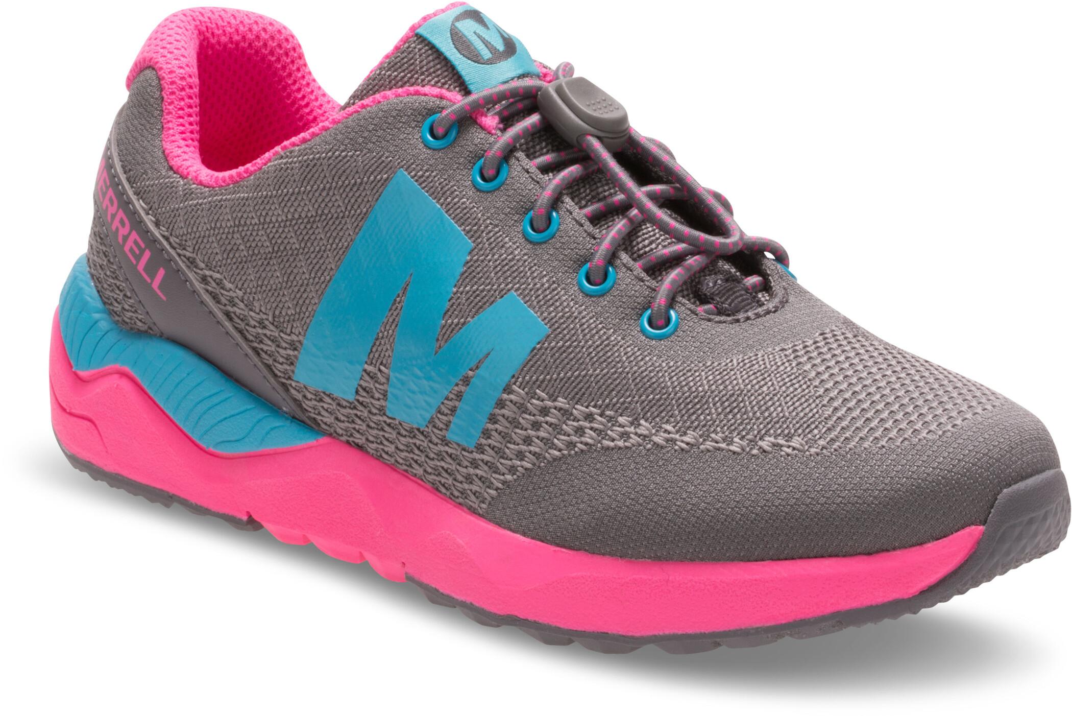 the latest 19ce3 ee803 Merrell Versent Shoes Girls grey pink turq.jpg