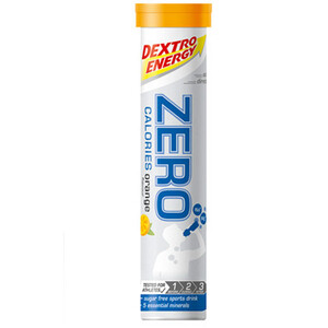 Dextro Energy Zero Calories Electrolyt Tabs 20 x 4g Orange