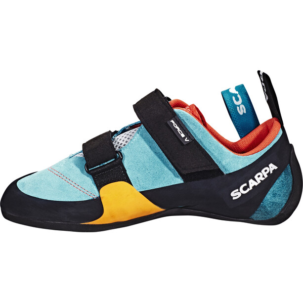 Scarpa Force V WMN Kletterschuhe Damen icefall/madarin red