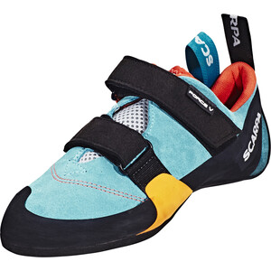 Scarpa Force V WMN Kletterschuhe Damen icefall/madarin red icefall/madarin red